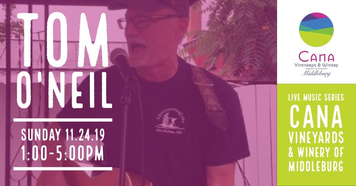 Live Music Series – Tom O'Neil
