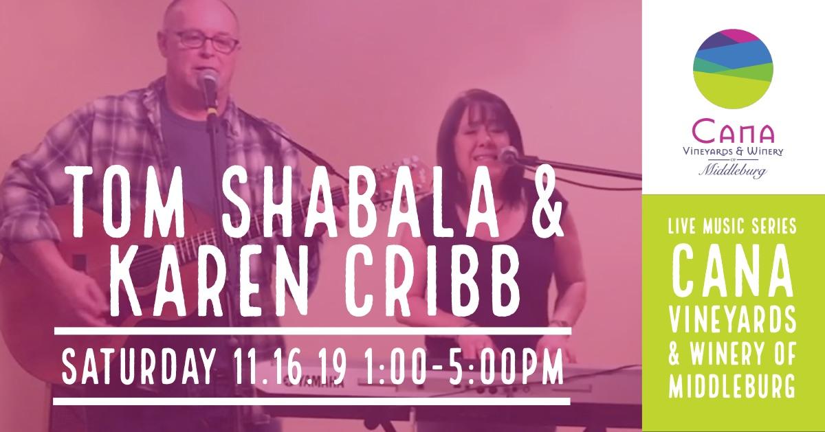 Live Music Series – Tom Shabala & Karen Cribb