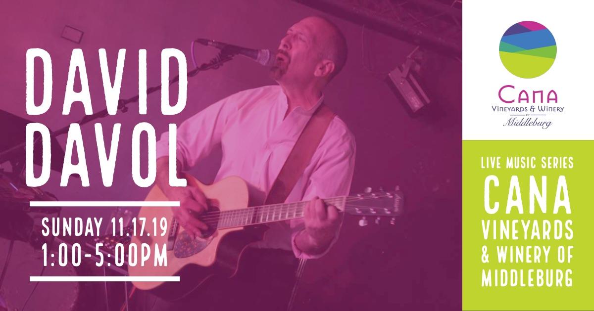 Live Music Series – David Davol