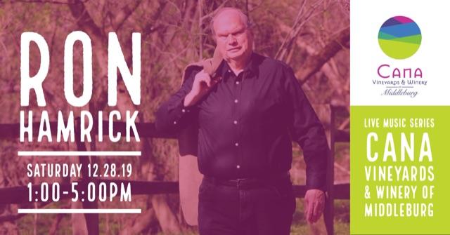 Live Music Series – Ron Hamrick